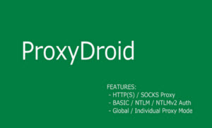 ProxyDroid 2.7.0 APK for Android Download