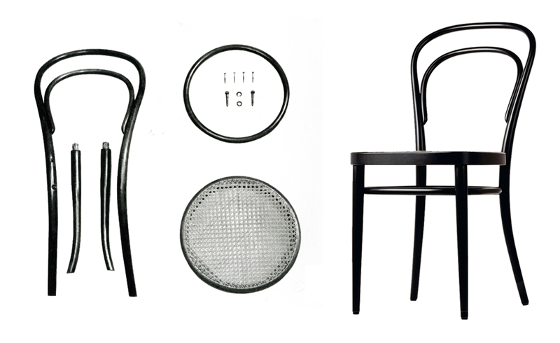 iris 39 blackboard thonet chair no 14 silla no14. Black Bedroom Furniture Sets. Home Design Ideas