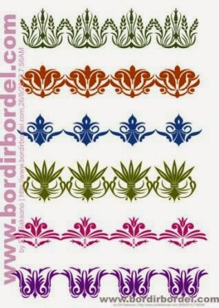 Free PSD File, motif ornament