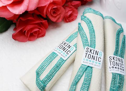 Poznaj 16 powodów dla których wybrałam organiczną ściereczkę do mycia twarzy Skin&Tonic London + KONKURS