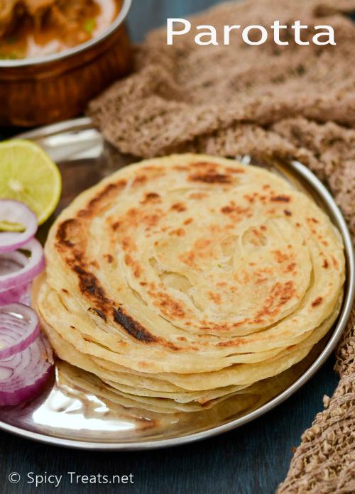Parotta Recipe | Parotta – Step By Step Recipe | South Indian Layered Bread – Hotel Style Parotta Recipe
