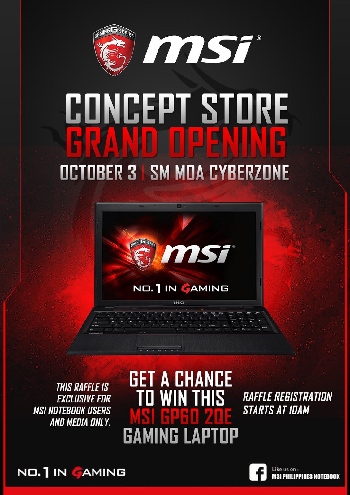 MSI Grand Opening