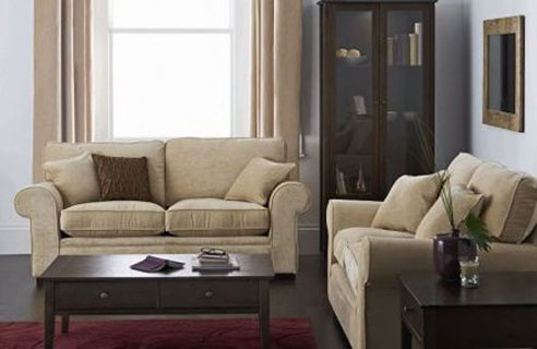 House of herbastyle simple living room interior design for Easy living room designs