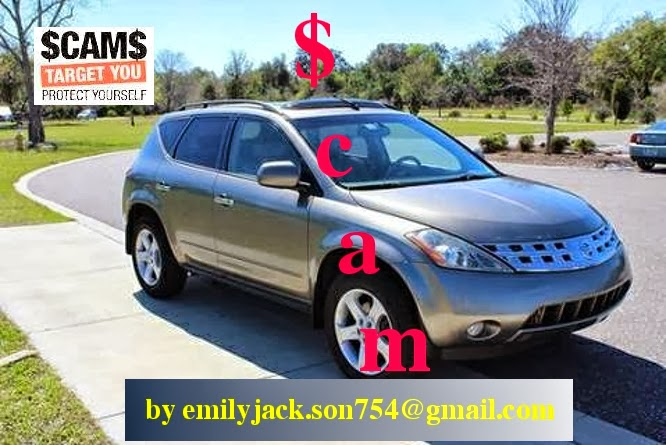 CRAIGSLIST SCAM ADS DETECTED ON 02/19/2014 | Vehicle Scams ...