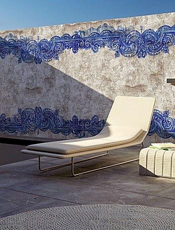 papel pintado exterior , decoración , vinílico , terrazas , fachadas