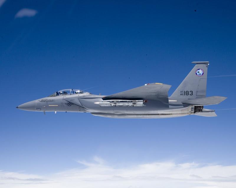 F-15SE Silent Eagle Stealth Fighter Jet