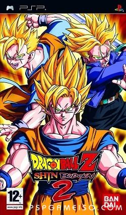 Dragon Ball Z, Shin Budokai 2, psp game, free download, mediafire