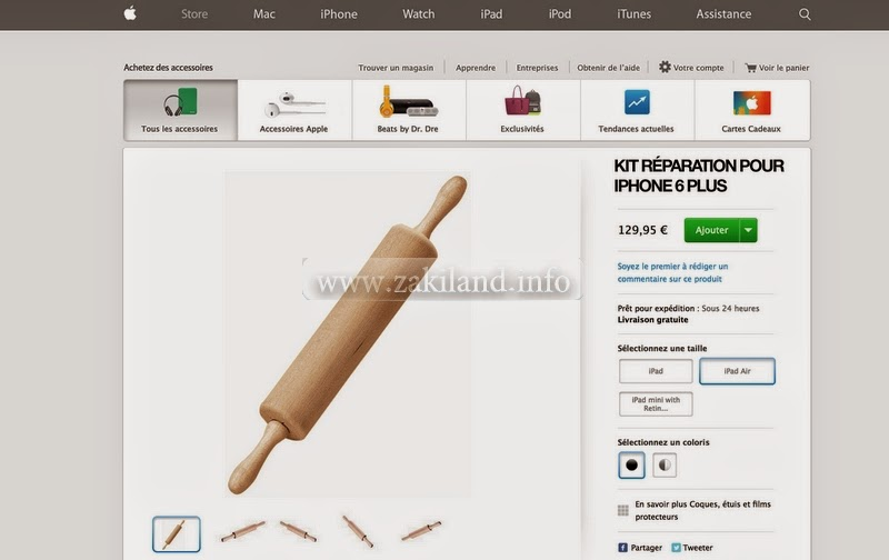 Kit réparation pour Iphone 6 Plus qui se plie #Bendgate apple