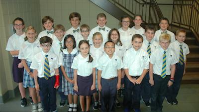 Montgomery Catholic Preparatory School Recognizes 55 4th-6th Grade Students who Qualify for Duke TIPs 1