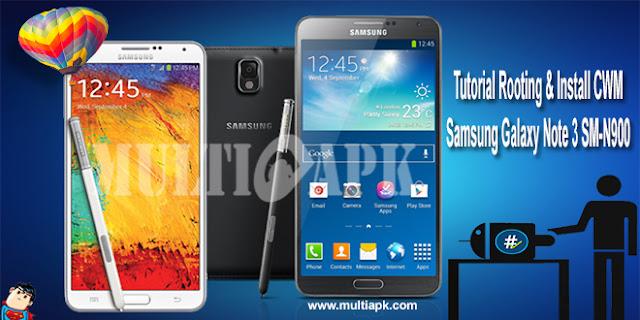 Root dan Install CWM Samsung Galaxy Note 3