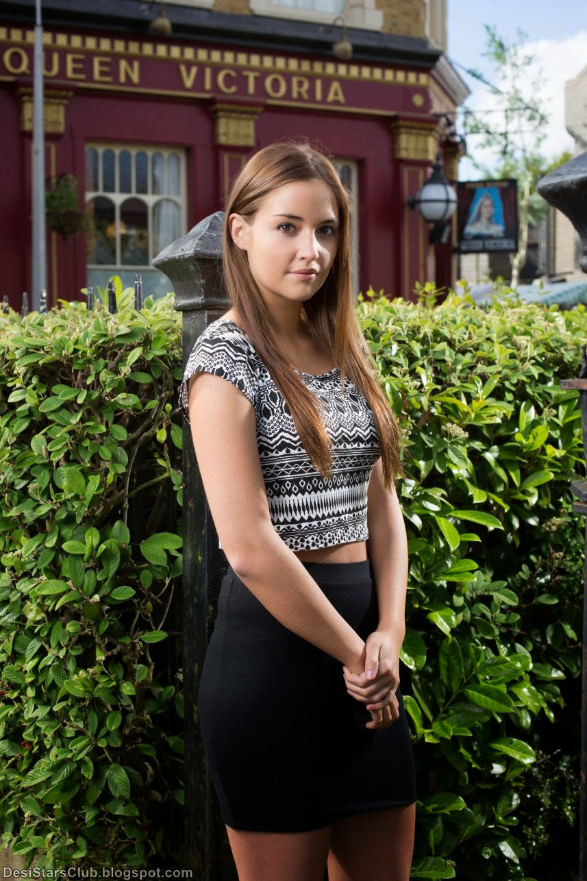 Jacqueline Jossa Cute Photos at Jack Barnes Photoshoot for EastEnders 2014