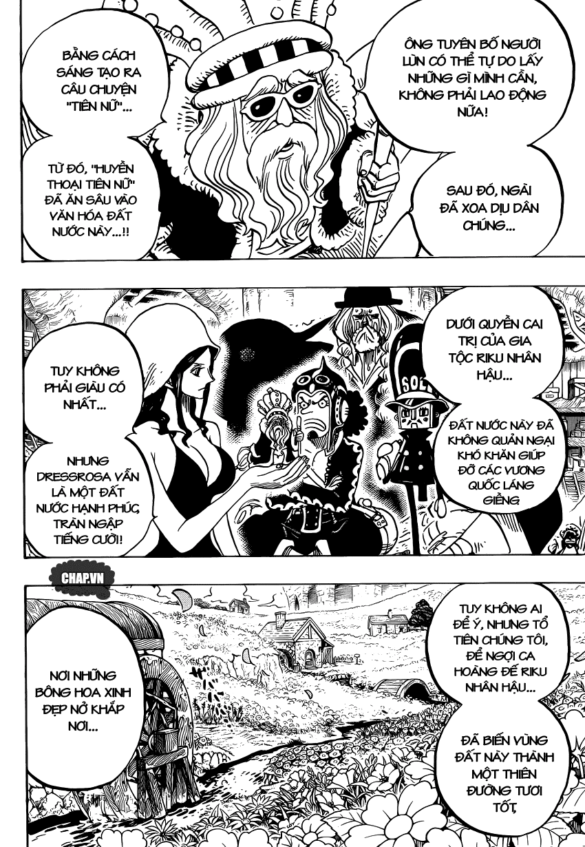 One Piece Chapter 726: Gia tộc Riku 016