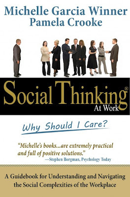Book cover: Social Thinking at Work