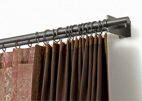 curtain chic rod your cafe to curtains homesfeed rods concept residence pertaining