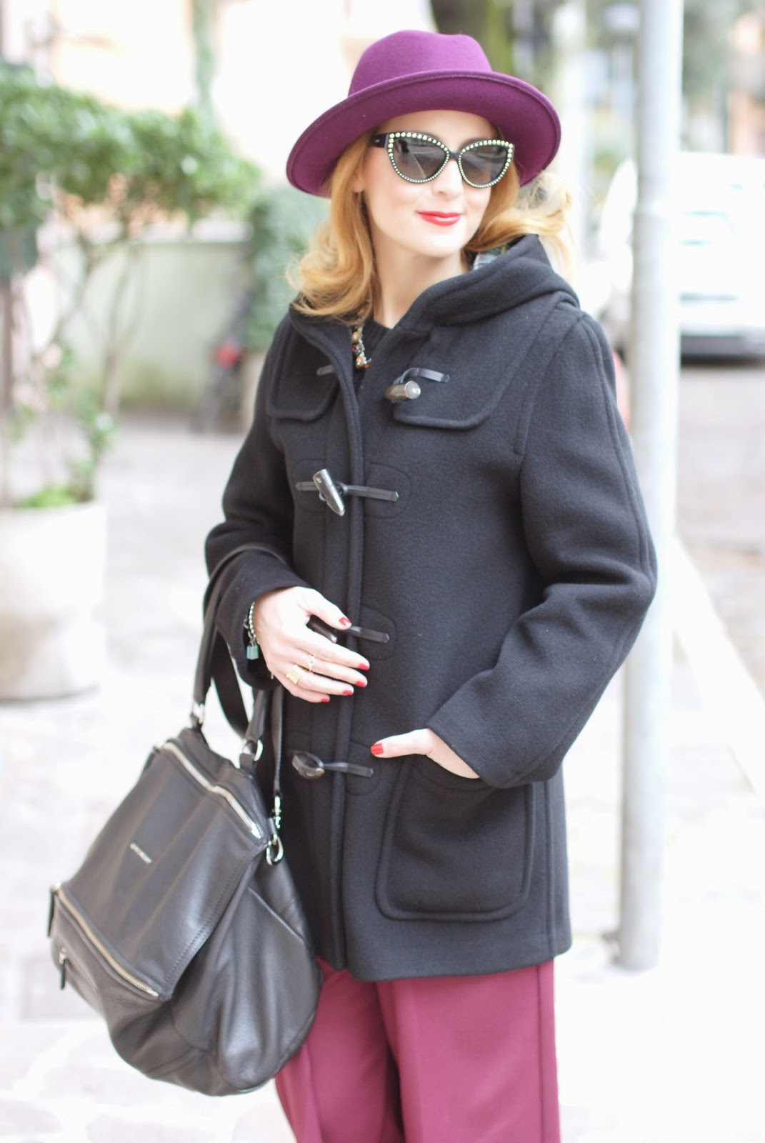 Ribbed knit sweater, Givenchy Pandora bag, Ecua-Andino hat, Fashion and Cookies, fashion blogger