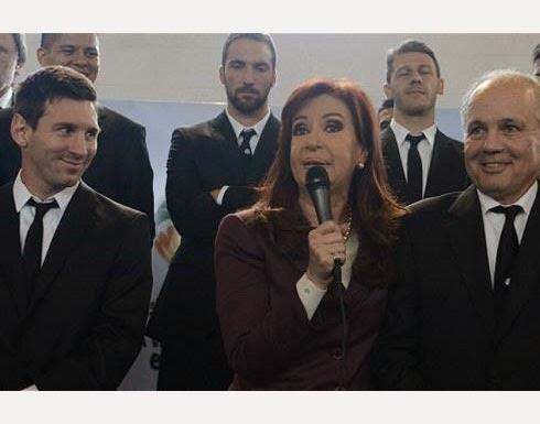 رئيسة الأرجنتين لمنتخبها: لم أتابع لكم أي مباراة في المونديال
