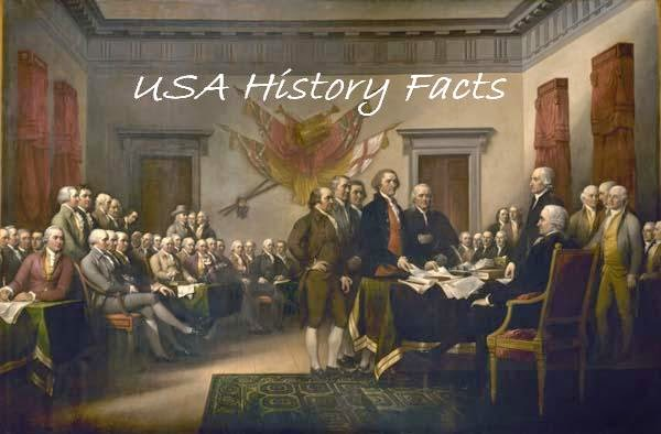 USA History Facts, Interesting facts about USA History, United States of America Facts