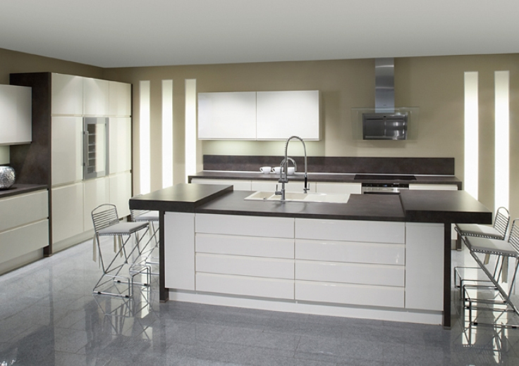 Kitchen set minimalis modern murah desain gambar for Contoh kitchen set minimalis