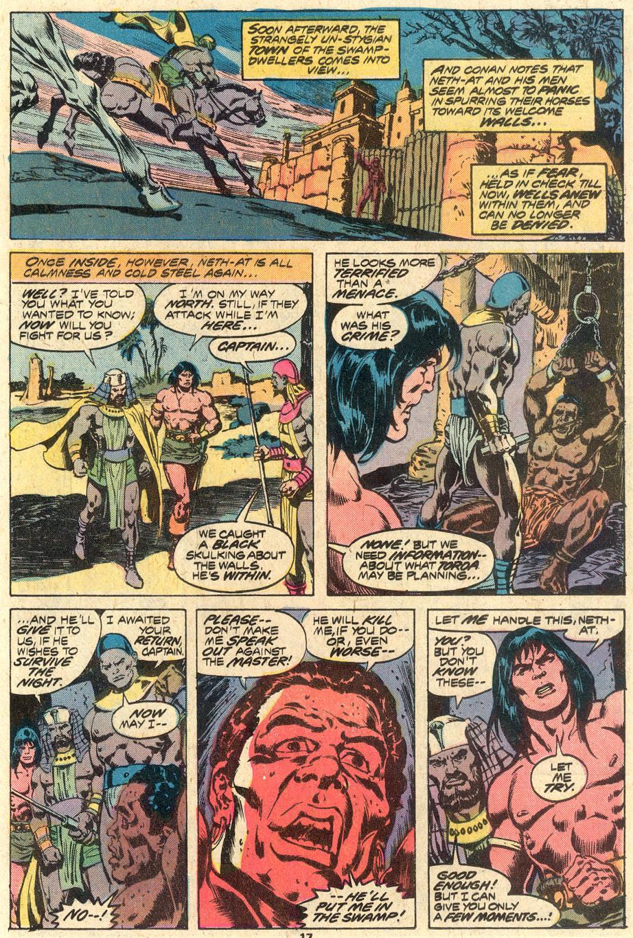 Conan the Barbarian (1970) Issue #82 #94 - English 12