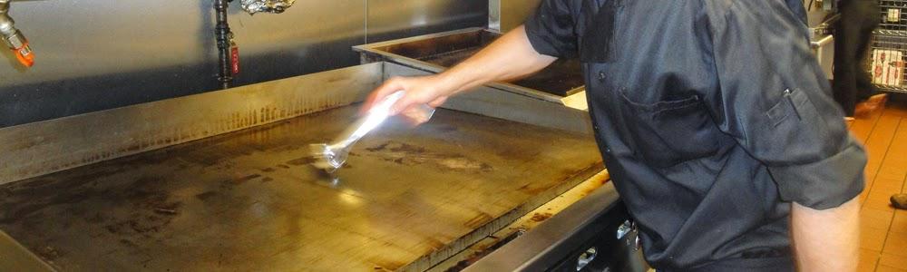 Redi-Gril 10 Inch Grill Scraper Cleaning