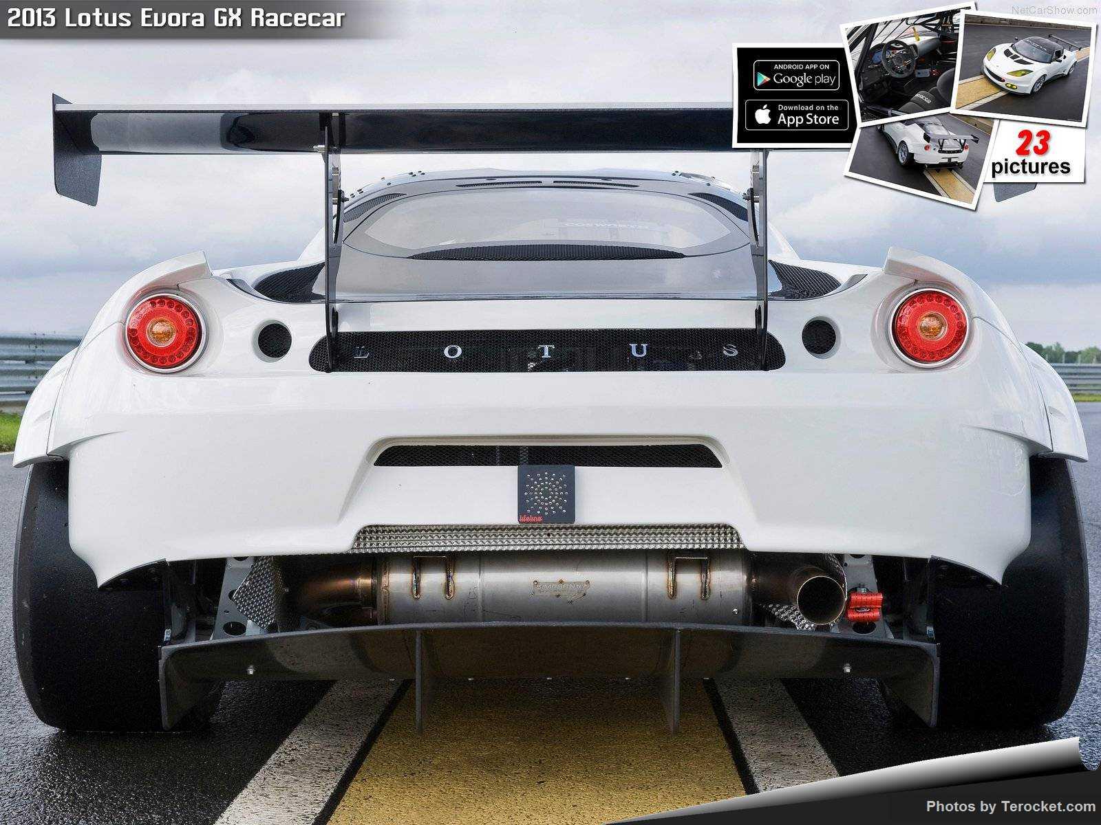 Hình ảnh siêu xe Lotus Evora GX Racecar 2013 & nội ngoại thất