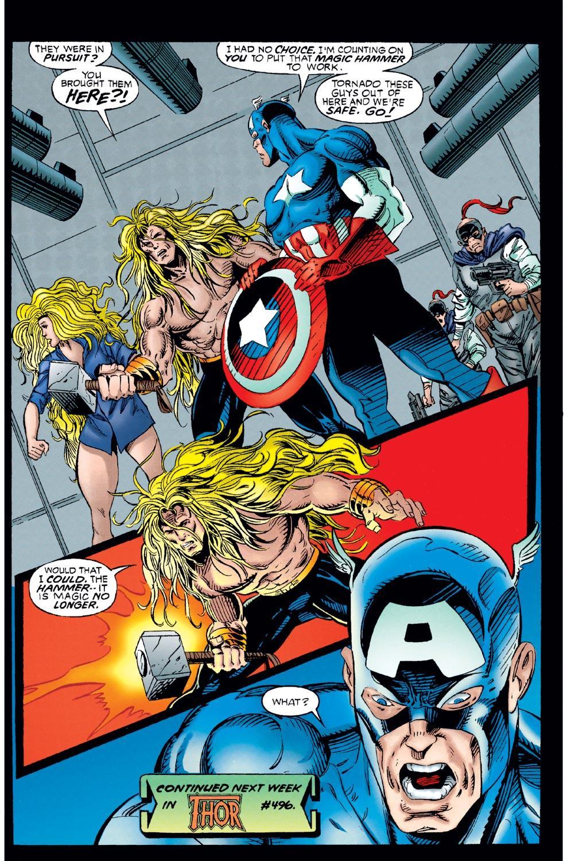 Captain America (1968) Issue #449 #403 - English 21