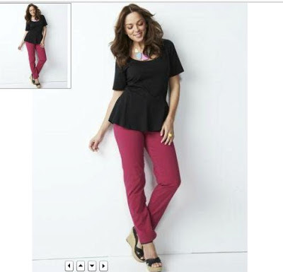 peplum top skinny jeans style