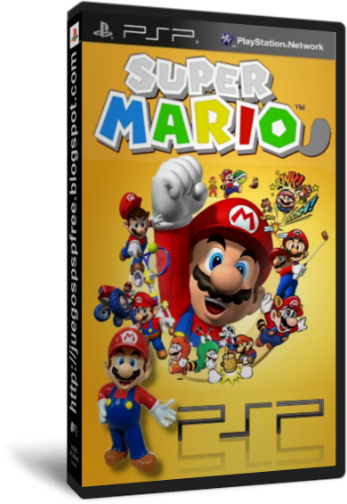 Super Mario PSP Collection [Full] [Ingles] [PSP] [FS]