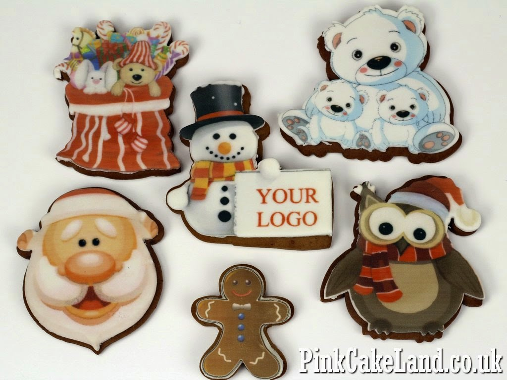Xmas Logo Cookies