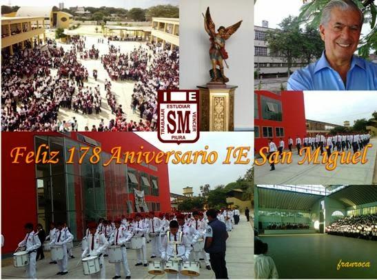 Feliz 178 Aniversario San Miguel