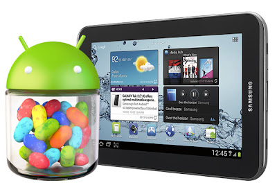 Update Android Jelly Bean Galaxy Tab 2 7.0