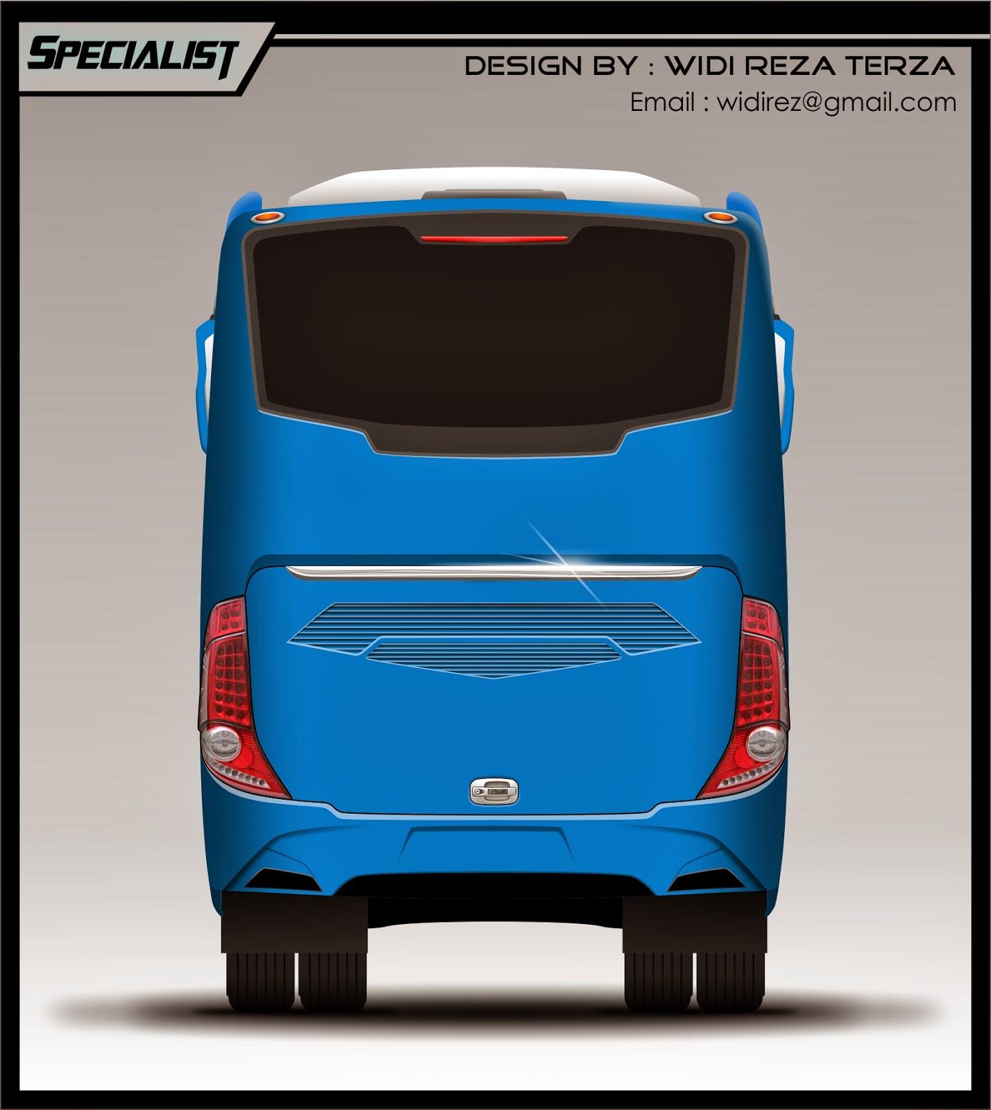 Design Bus 2D Specialist rear
