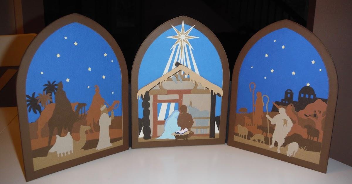 I Am Cocoa 39 S Mom Nativity Dimensional Scenes