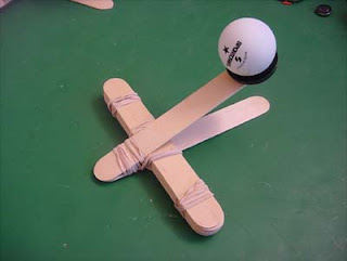 How To Make A Paper Ball Launcher
