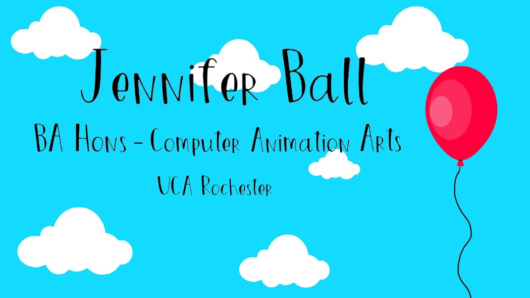 Jennifer Ball - Ba Hons - Computer Animation Arts - Rochester UCA