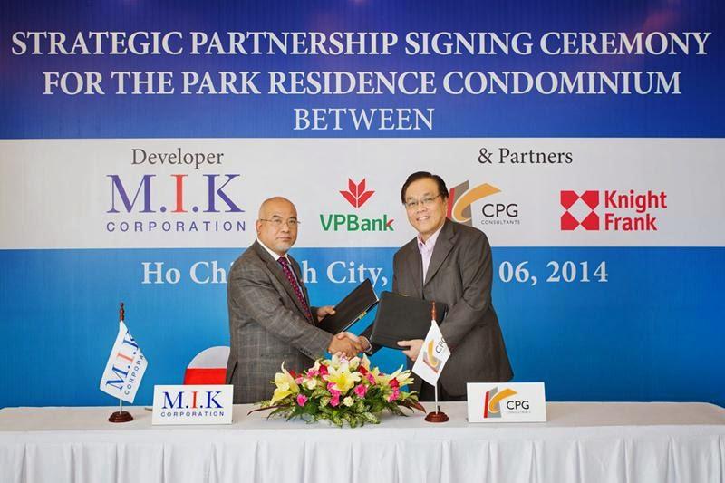 Lễ ký kết M.I.K và CPG