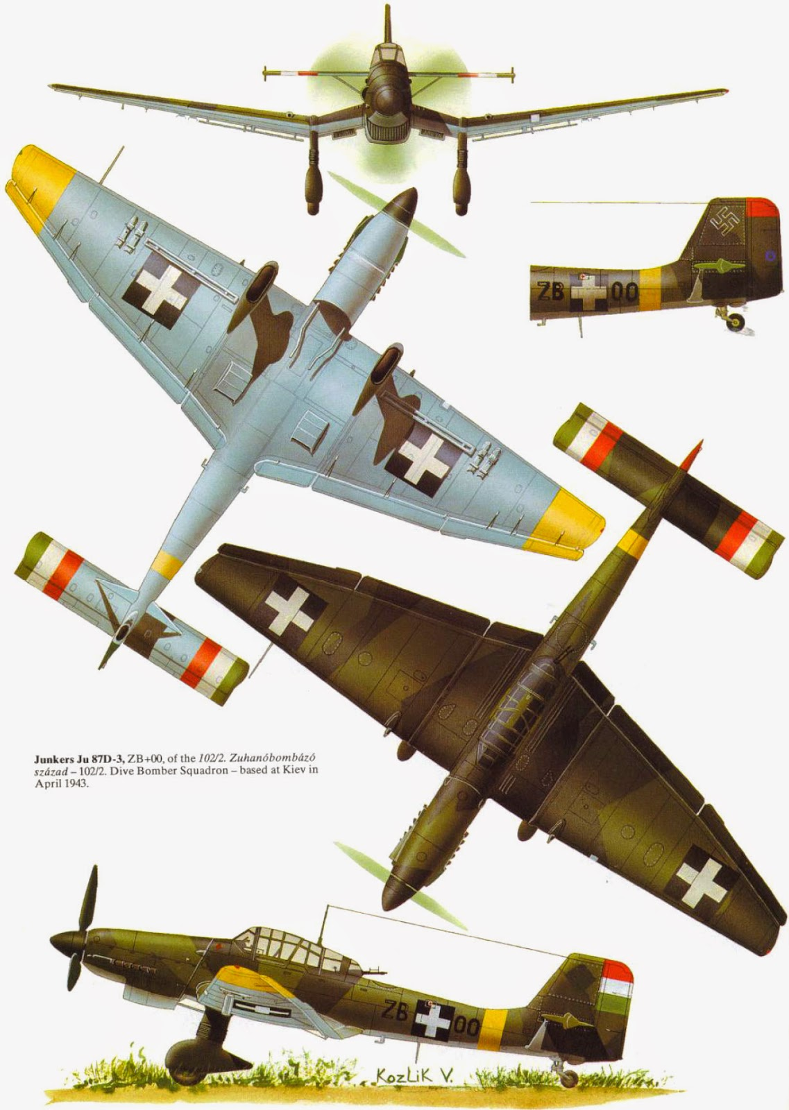 Junkers ju87b-2
