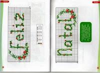 100 gráficos para bordados de natal parte 3
