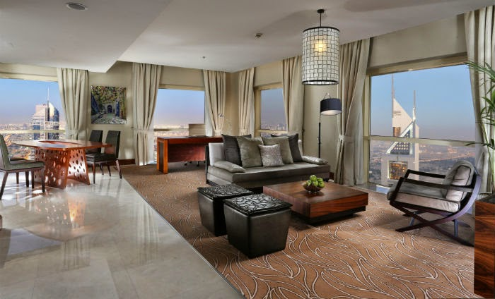 Millennium Plaza Hotel is located on the Dubai International Financial Centre and Emirates Towers side of Sheikh Zayed Road
