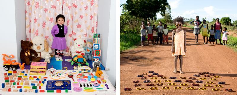 Toy Stories, los niños y sus juguetes.