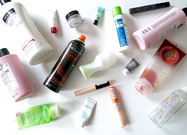 December and January Empties