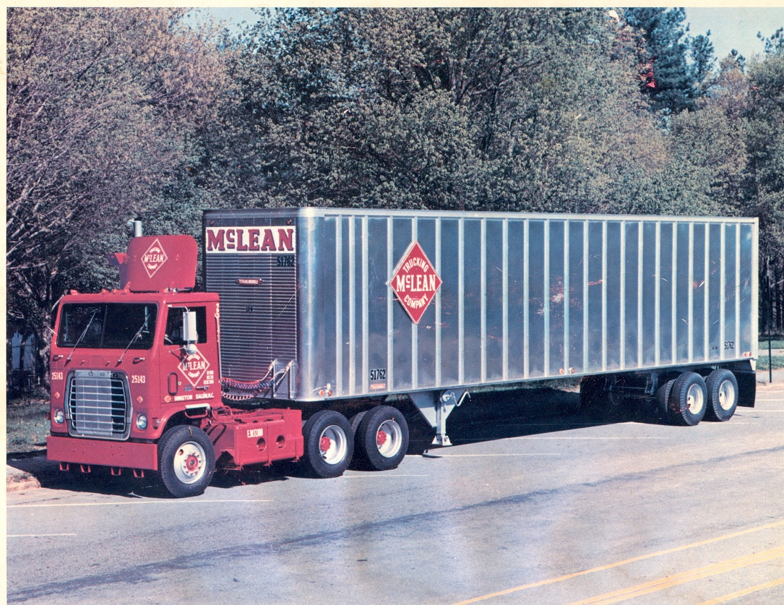 Mclean Trucking Company Service Map Nelson S Bmw