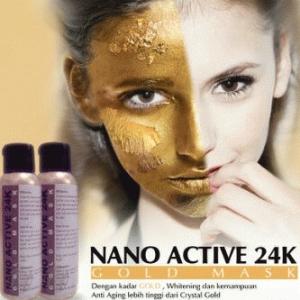 NANO ACTIVE GOLD MASK 24K