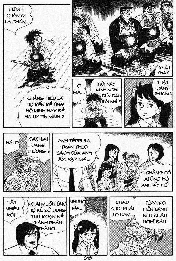 Siêu quậy Teppi chap 53 - Trang 18