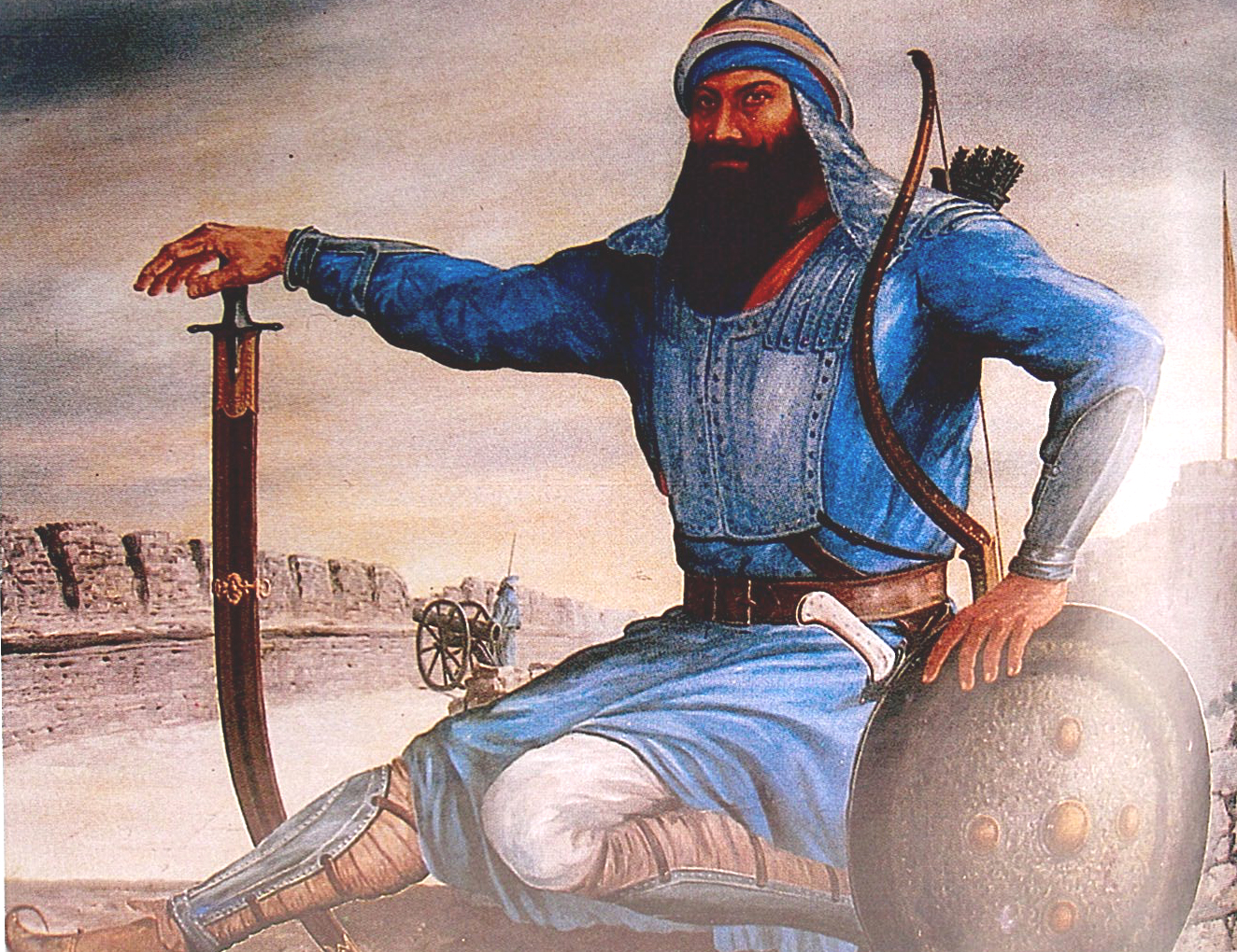 Baba Banda Singh Bahadur ( 1670 – 1716 ) and the first coins of the