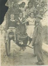 Romería de Valme del año 1950. Familia Blanco y Jiménez