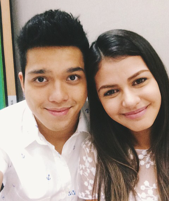 Elmo Magalona and Janine Gutierrez