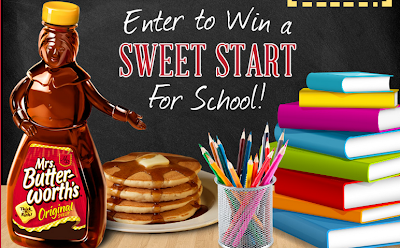 mrs butterworths back to school sweepstakes