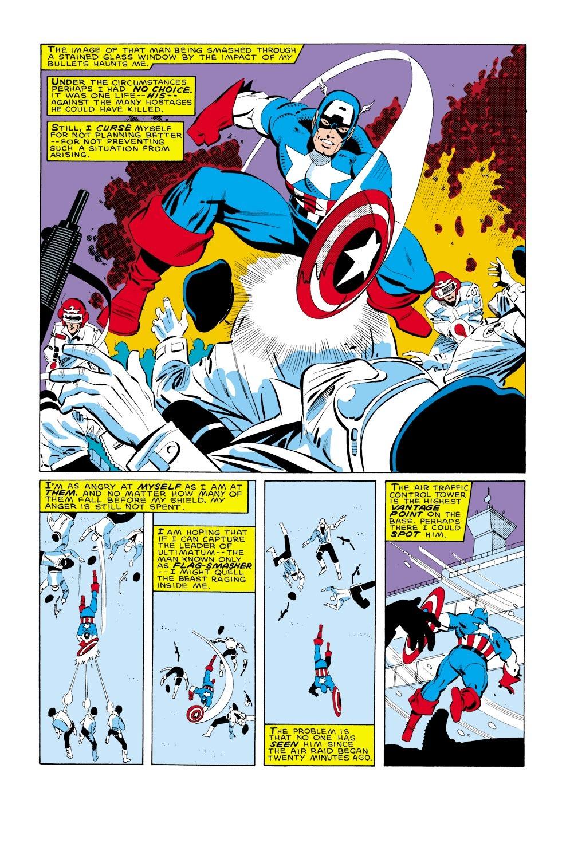 Captain America (1968) Issue #322 #250 - English 6