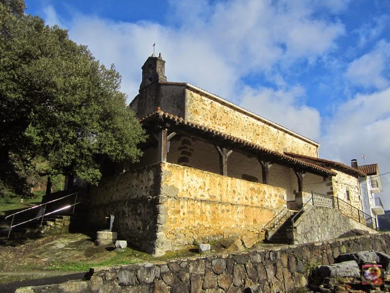 Santa María de Goikiria en Orozko (Bizkaia)